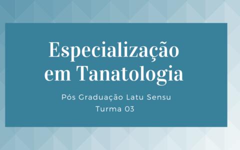 Especialização em Tanatologia T III